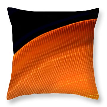 The Edge Throw Pillow by Lena Wilhite
