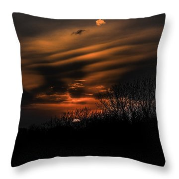 The Edge Of Night Throw Pillow