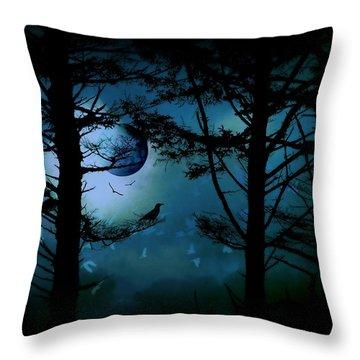 The Edge Of Twilight  Throw Pillow by Micki Findlay