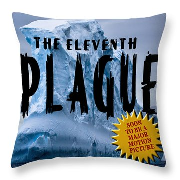The Eleventh Plague Bookcover Throw Pillow by Mike Nellums