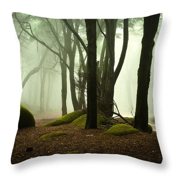 The Elf World Throw Pillow