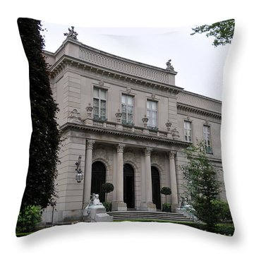 The Elms  --  Newport Rhode Island  Throw Pillow