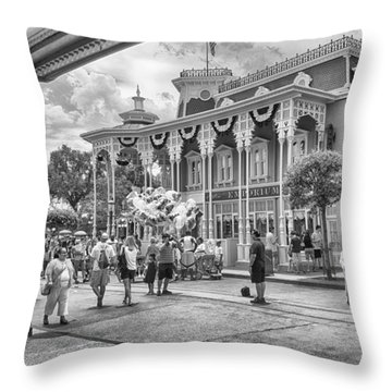 Throw Pillow featuring the photograph The Emporium by Howard Salmon