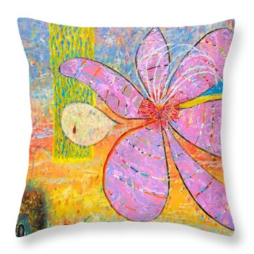 The Empty Tomb Throw Pillow