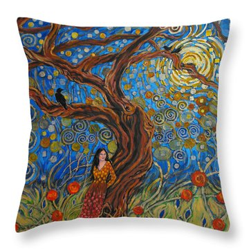 The Enchanted Dream Throw Pillow