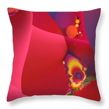 The End? Throw Pillow