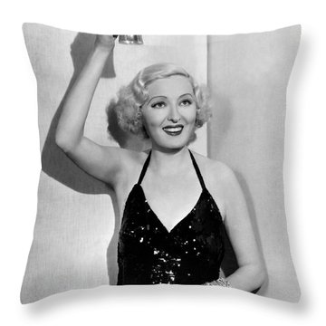 The End Of Prohibition Throw Pillow