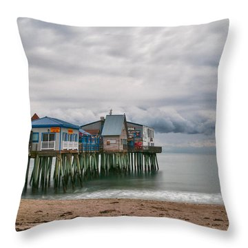 The End Of The Season Throw Pillow by Guy Whiteley