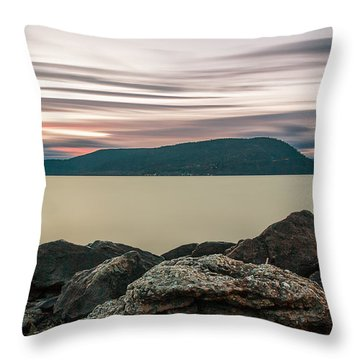 Throw Pillow featuring the photograph The End Of Time  by Anthony Fields