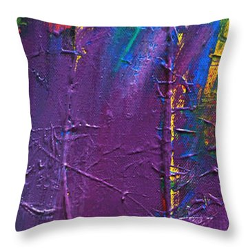 The End Stage Path Series Throw Pillow