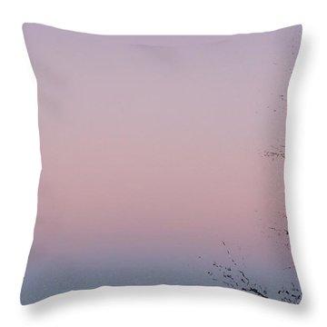 The Ephemeral Twilight Throw Pillow by Alexander Van Berg