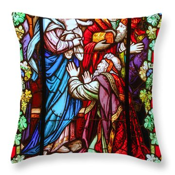 The Epiphany Of Our Lord Throw Pillow