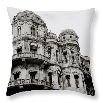 The Esplanade Mansions Throw Pillow