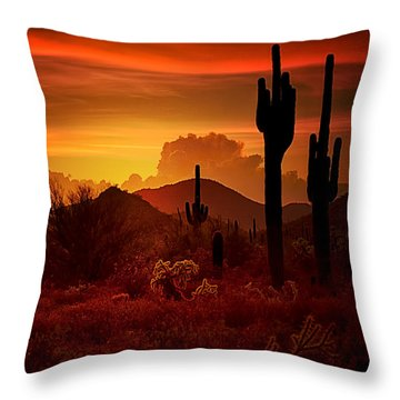 The Essence Of The Southwest Throw Pillow