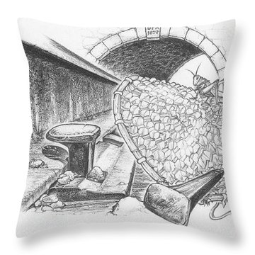 The Essence Throw Pillow