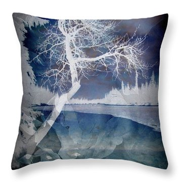 The Essential Pause Throw Pillow by Shirley Sirois