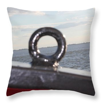 The Eye Throw Pillow