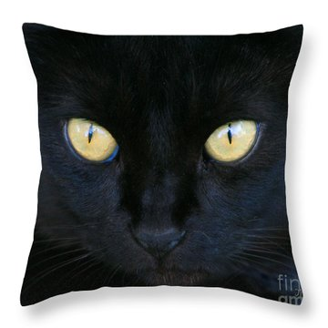 The Eyes Have It Throw Pillow by Mariarosa Rockefeller