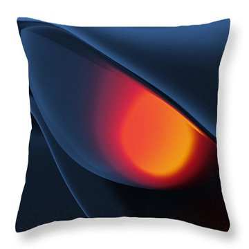 The Eyes Have It Throw Pillow by Richard Rizzo