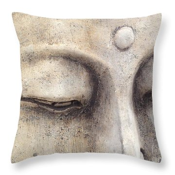 The Eyes Of Buddah Throw Pillow