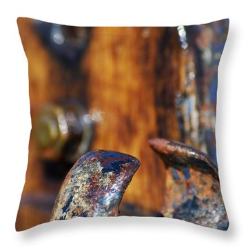 The Fairlead Throw Pillow by Wendy Wilton