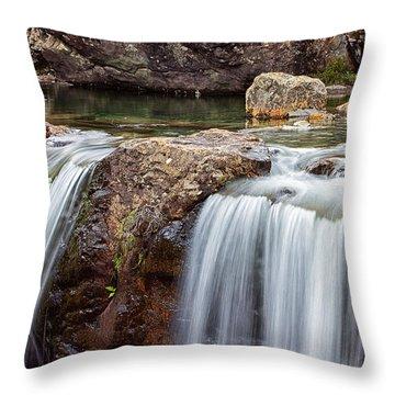 The Fairy Pools Throw Pillow