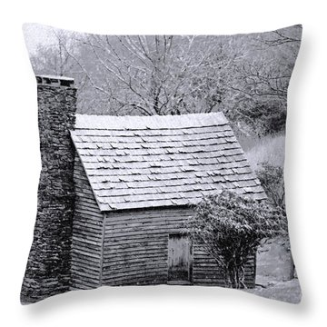 The Family Home Throw Pillow