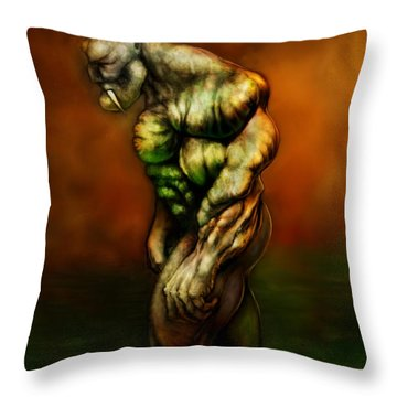The Fang Throw Pillow