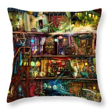 The Fantastic Voyage Throw Pillow