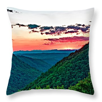 The Far Hills 2 Throw Pillow