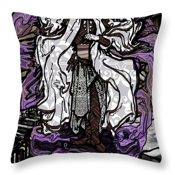 The Farseer Throw Pillow