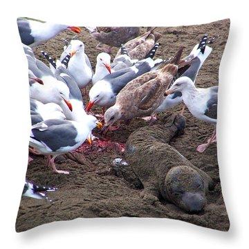 The Feast Throw Pillow