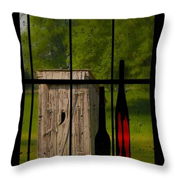 Throw Pillow featuring the photograph The Finer Things by Bob Pardue