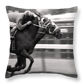 The Finish Throw Pillow