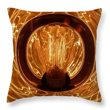The Fire Within Throw Pillow by Newel Hunter