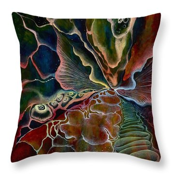 The First Sound Throw Pillow