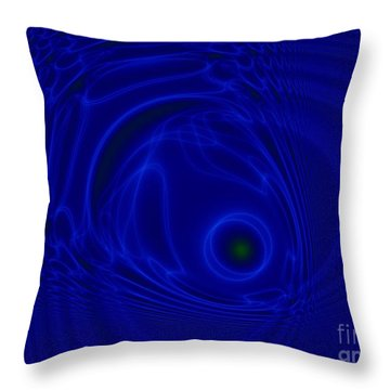 The Fish Throw Pillow by Peter R Nicholls