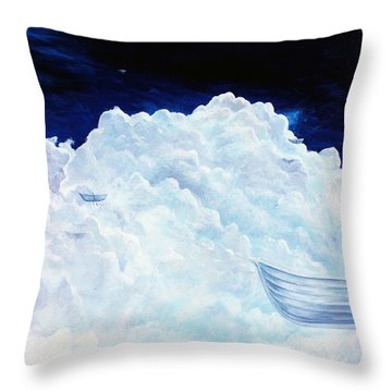 The Five Throw Pillow