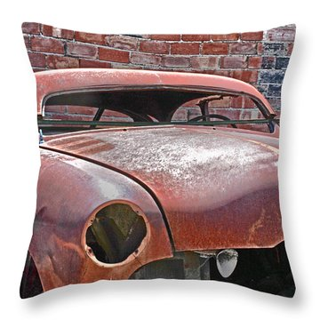 Throw Pillow featuring the photograph The Fixer Upper by Lynn Sprowl