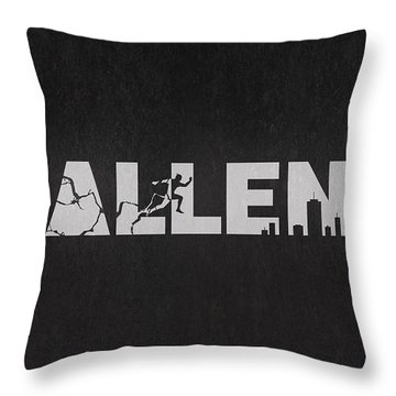The Flash - Barry Allen Throw Pillow