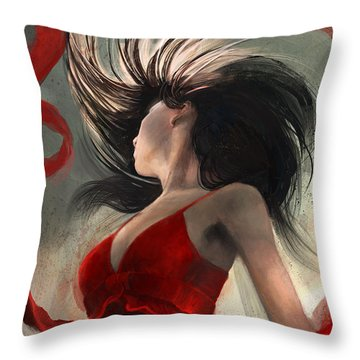 The Flip Throw Pillow