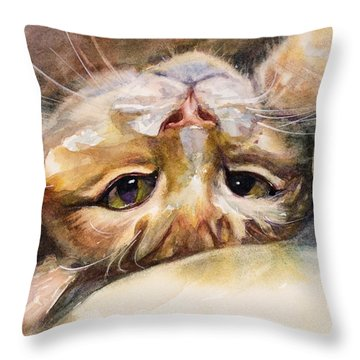 The Flirt Throw Pillow