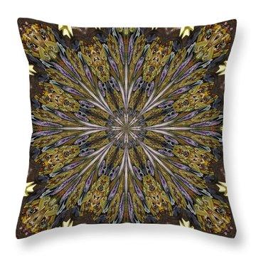 The Flower Shop Throw Pillow by Scott Kingery