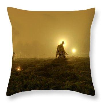 The Fog Of War #1 Throw Pillow