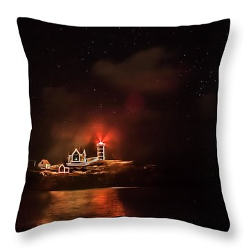 Throw Pillow featuring the photograph The Fog Rolls In by Jeff Folger