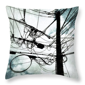 The Forest Of Queens Throw Pillow