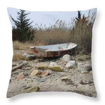 The Forgotten Dingy Throw Pillow