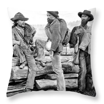 The Forgotten Soldiers Throw Pillow