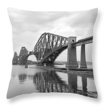 The Forth II Throw Pillow by Mike McGlothlen