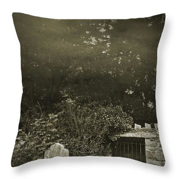 Throw Pillow featuring the photograph The Fortingall Yew by Jane McIlroy